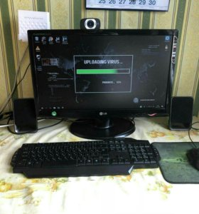 Компьютер с комплектующими