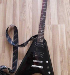 Электрогитара + гитарный комбоусилитель