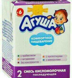 Агуша смесь кисломолочная