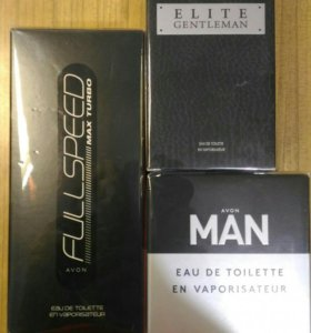 Avon Full Speed Max Turbo, Man, Elite Gentleman