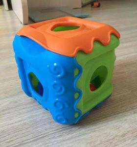 Сортер игрушка кубик