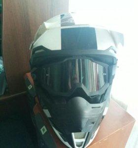 Шлем MT + очки