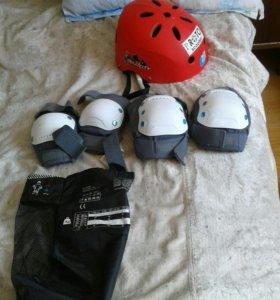 Набор защиты(шлем,колени,локти)