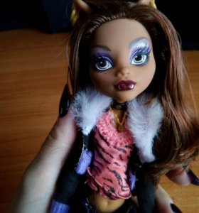 Кукла Monster High Clowdeen Wolf Базовая