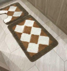 Коврики для ванной и унитаза