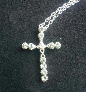 Цепочка с крестом(новый)