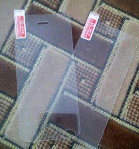 Защитное стекло 2 шт на iPhone 5 5s