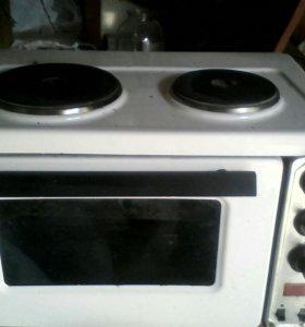 Электропечь с духовкой