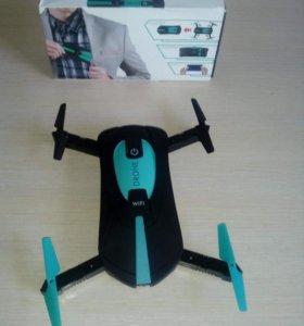 Карманный селфи-дрон С HD камерой И WI-FI