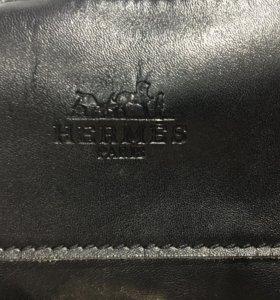 Кожанная сумка HERMES