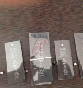 Аккумуляторы iPhone 4/4s/5/5s/6/6+/6s/7/7+