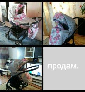Коляска детская 3в1