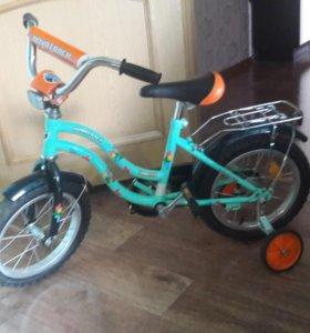 Детский велосипед novatrack tetris 14