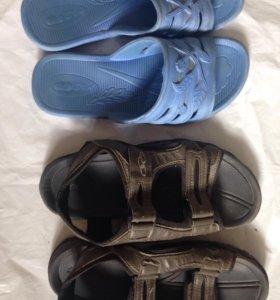 2 пары летней обуви