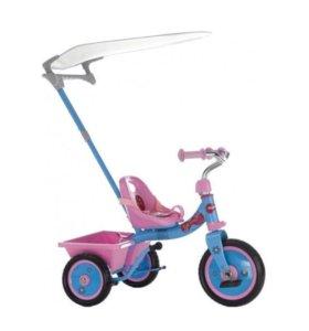 Новый велосипед трёхколёсный Italtrike Be Happy