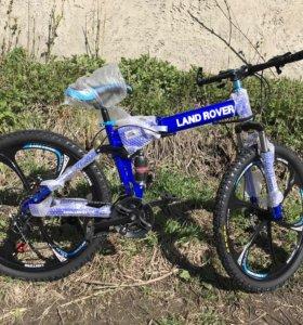 Велосипед складной на литых дисках