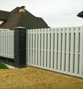 Забор из Штакетника.