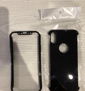 Чехлы и стекло айфон x