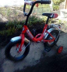 Детский новый велосипед