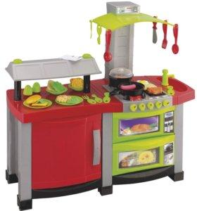 Детская игровая электронная кухня Смарт курьером