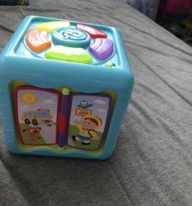 Развивающий кубик baby go