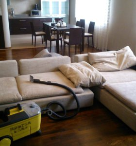 Химчистка ковров, мягкой мебели на дому