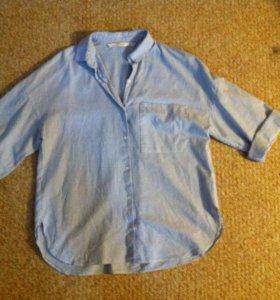 Рубашка Zara 44-46