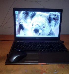 Тонкий и быстрый ноутбук Aser