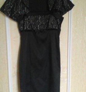 атласное платье с балеро