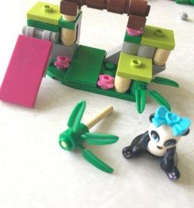 Лего friends панда