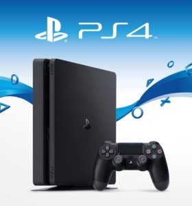 PlayStation 4 slim 500GB (PS4)+UFC 3 и Uncharted 4
