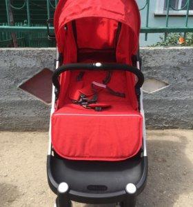 Новая коляска Yoya plus-red