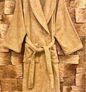 Халат мужской банный комплект (махровый)