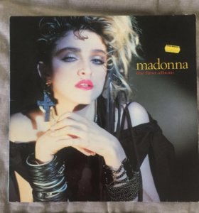 Пластинка Madonna - the first album