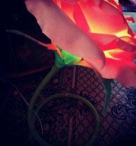 Роза- светильник