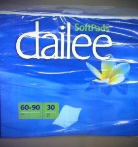 Пеленки dailee 60*90