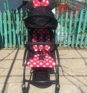 Детская коляска Baby time mini mouse