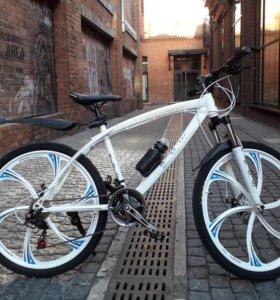 Велосипед на литых дисках в наличии с гарантией