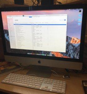 Моноблок Apple iMac 27 i5 16RAM 500HDD