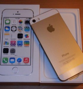 iPhone 5 s 16 g gold