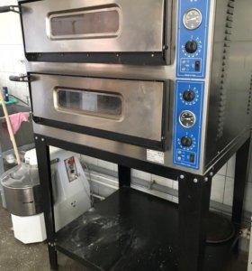 Печь для пиццы. Холодильное оборудование.