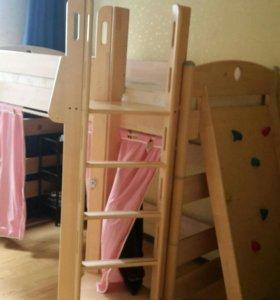 Кровать Двухъярусная кровать.