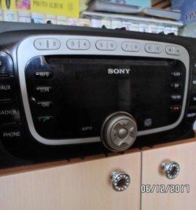 Автомагнитола Sony для Ford focus 2