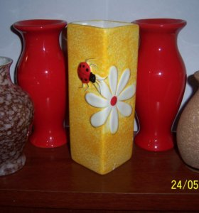 коллекционные вазы в Вашу коллекцию