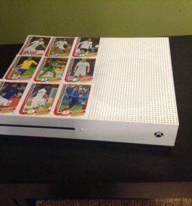 Xbox one s + две игры 500ГБ