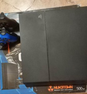 PS4 500Gb + 2 Dualshock + ЗУ Оригинал + Подставка