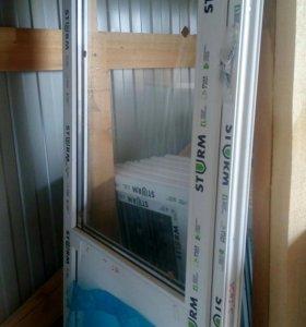 Окна пластиковые новые в наличии