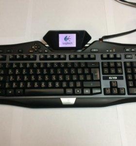 Игровая клавиатура Logitech G19