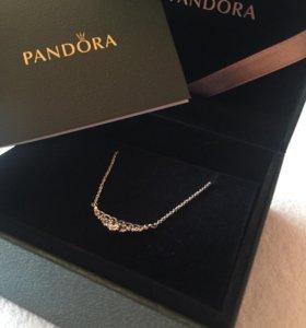 Серебряная подвеска Pandora Пандора колье