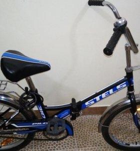 Велосипед stels pilot складной